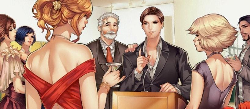 image de manga homme et femme