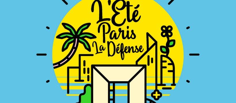 Affiche de l'été Paris La Défense