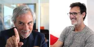 Pascal Nessim et Gilles Fichteberg