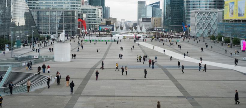 Paulien Oltheten, Square, La Défense, 2017