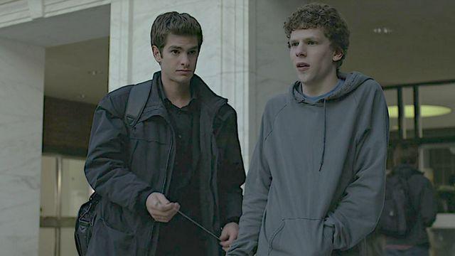 Un extrait du film The social Network dans lequel on voit Jesse Eisenberg aux côtés d'Andrew Garfield