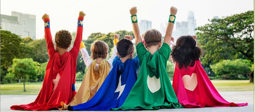 superheros juniors