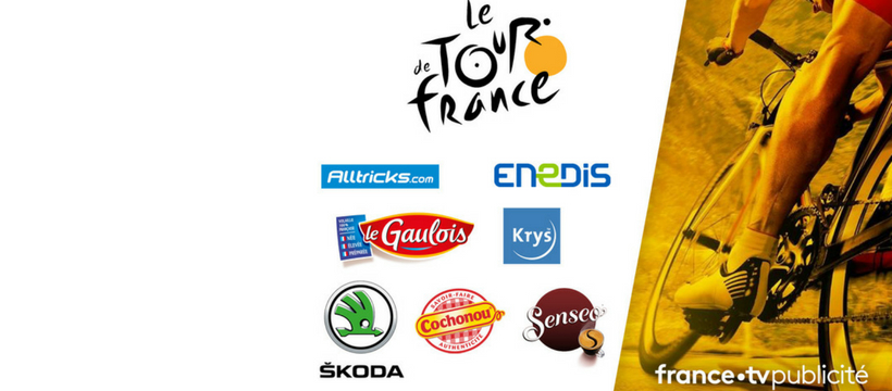 sponsor france TV Tour de France