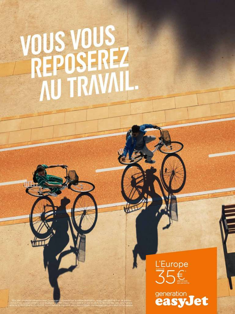 campagne easyJet