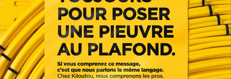 Affiche pub kiloutou