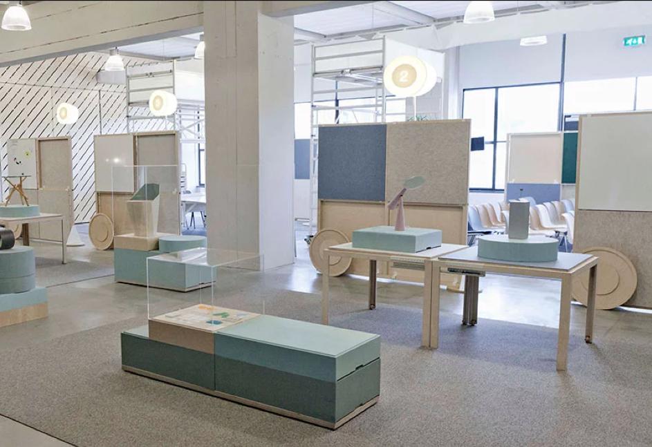 Les bureaux mobiles du designer Dave Keune