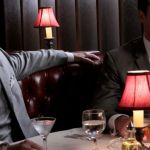 Les personnages de Mad Men au restaurant