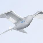 un oiseau robotique