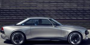 Une belle voiture grise