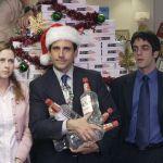 Les acteurs de The Office en train de célébrer Noël
