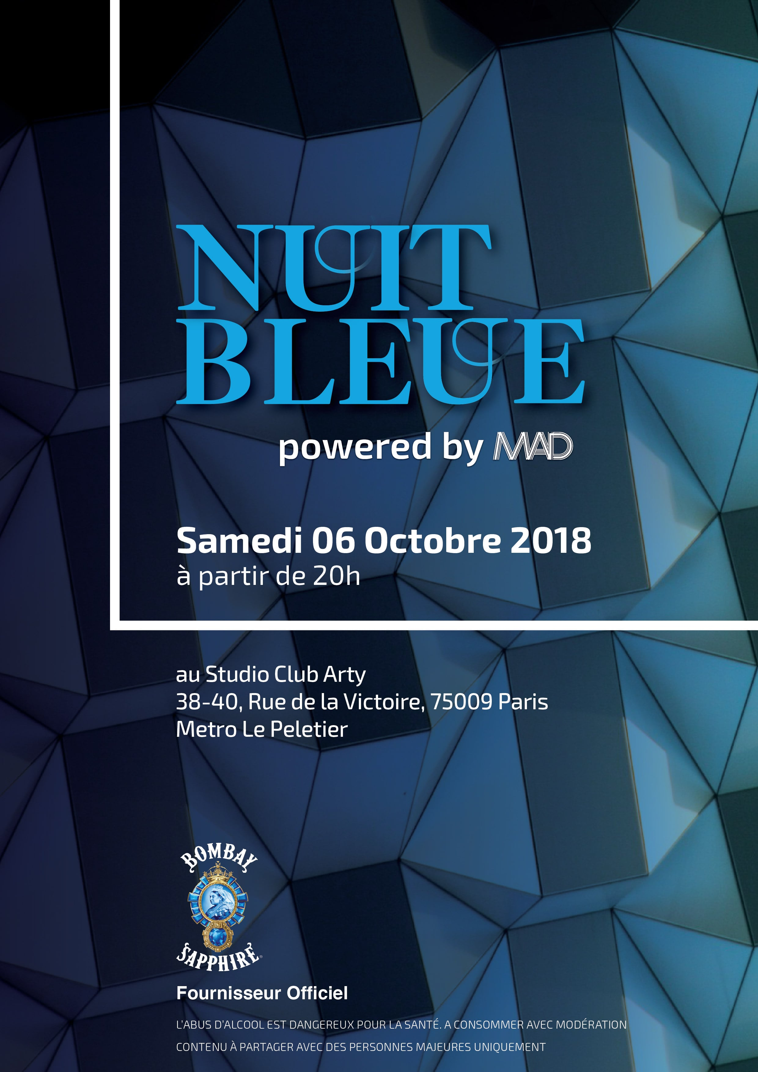 Bombay Sapphire Nuit Bleue