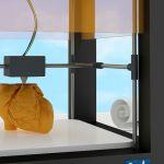 un coeur imprimé en 3D