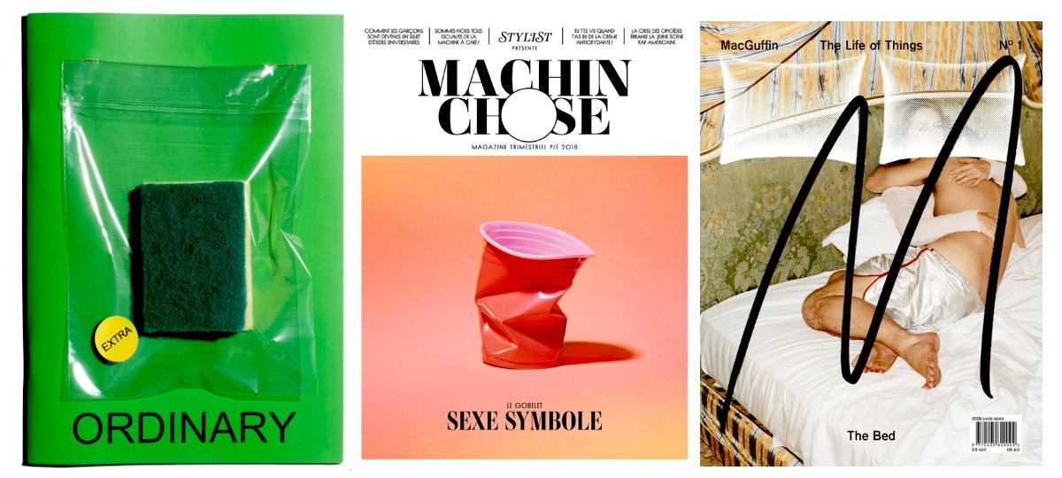 Magazines et objets
