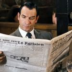OSS 117 lit le journal