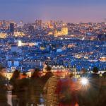 Paris vue depuis Montmartre