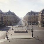 Place de l'opéra Garnier à Paris