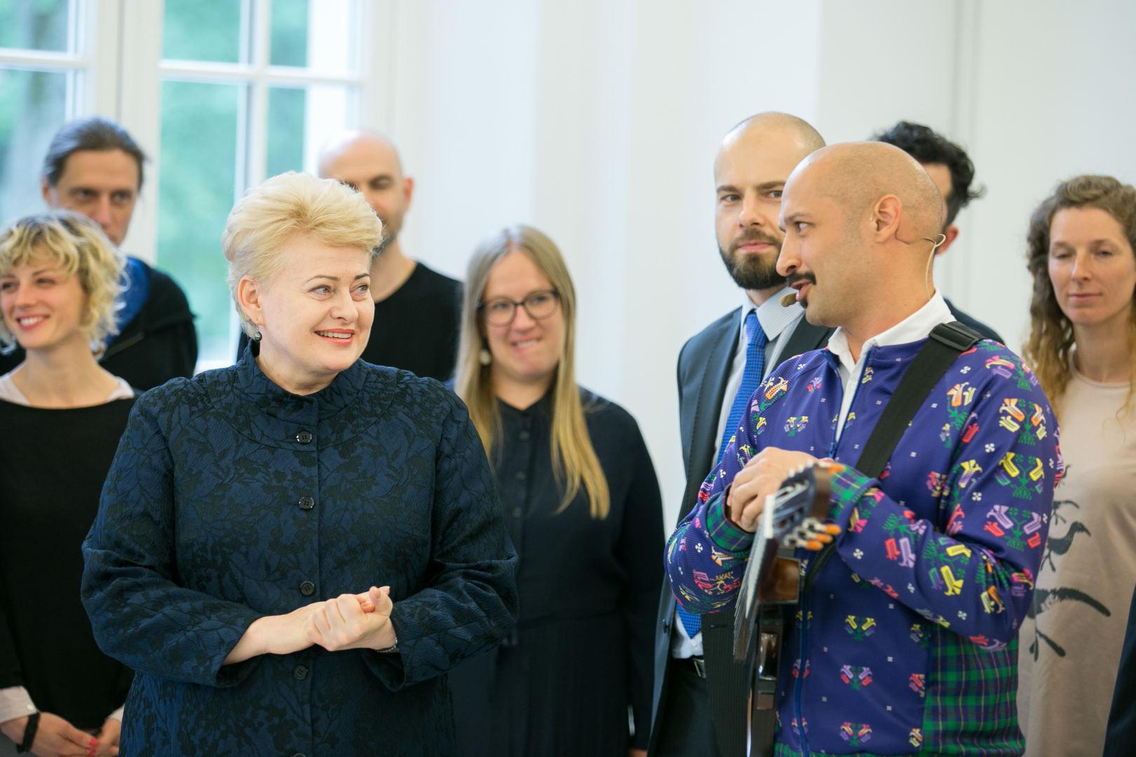 Dalia Grybauskaitė et Jurgis Didžiulis