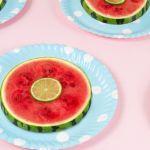pastèque en rondelles