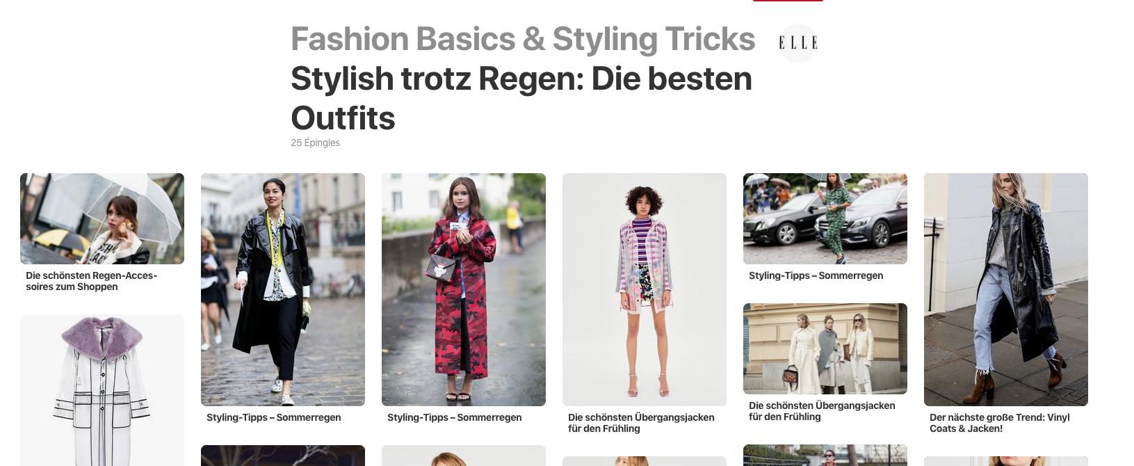 tableau pinterest mode allemande