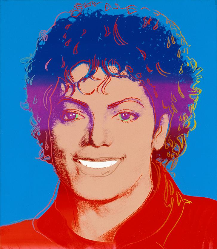 Andy Warhol Michael Jackson