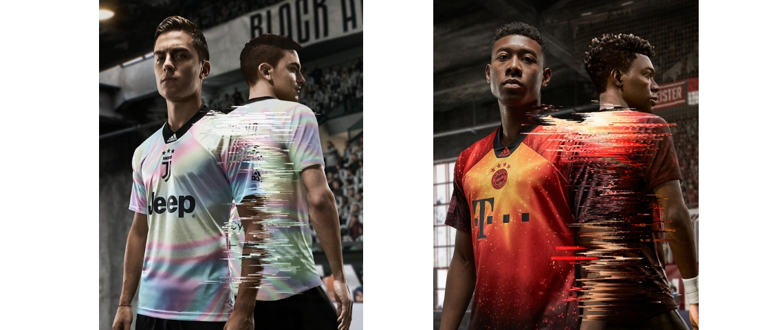 Maillots adidas et EA Sports