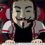 un anonymous dans sa chambre