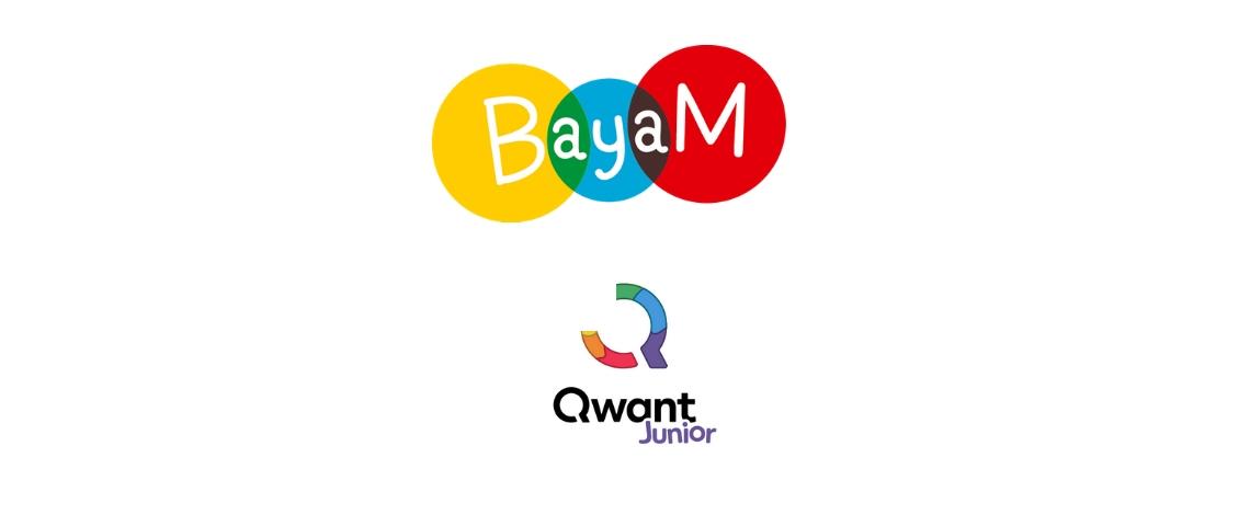 Logos Bayam et Qwant