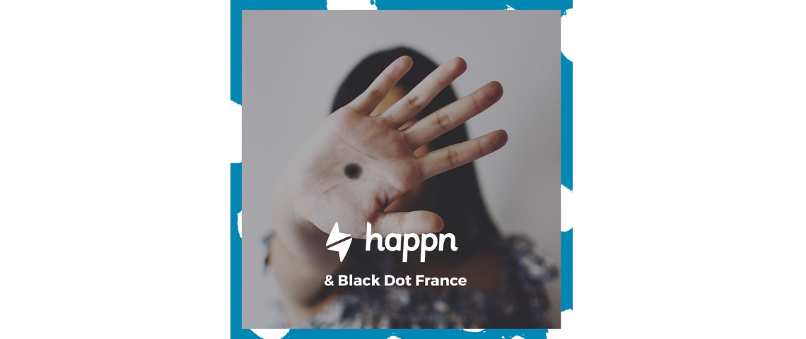 Affiche Black Dot