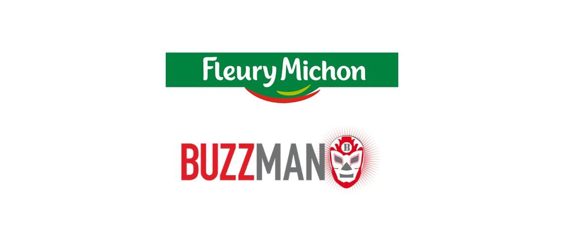 Logos Buzzman et Fleury Michon