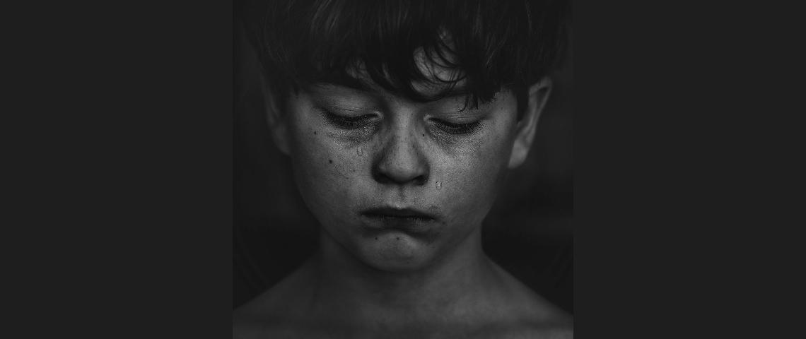 Un enfant qui pleure