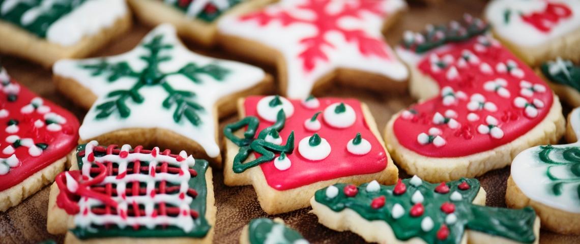 Des biscuits de Noël
