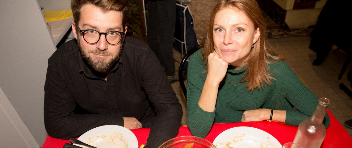 Lucie Vallotton et Vincent Cusenier