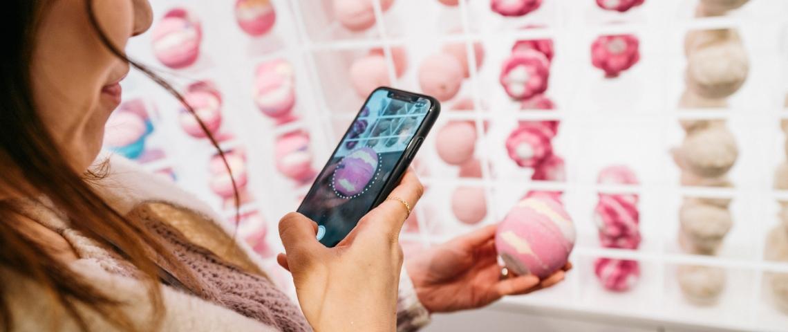 Application mobile Lush