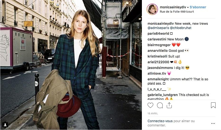 Post Instagram de Monica de La Villardière
