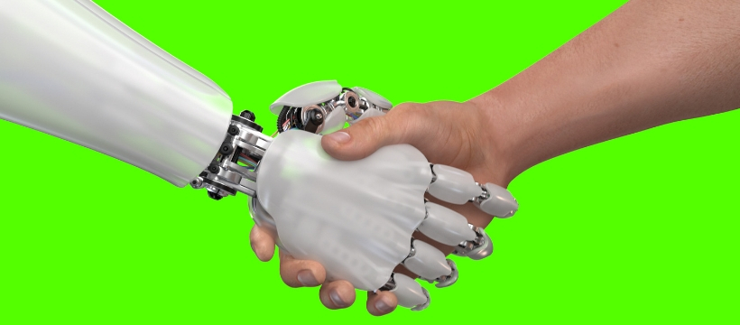 monde du travail humain robot