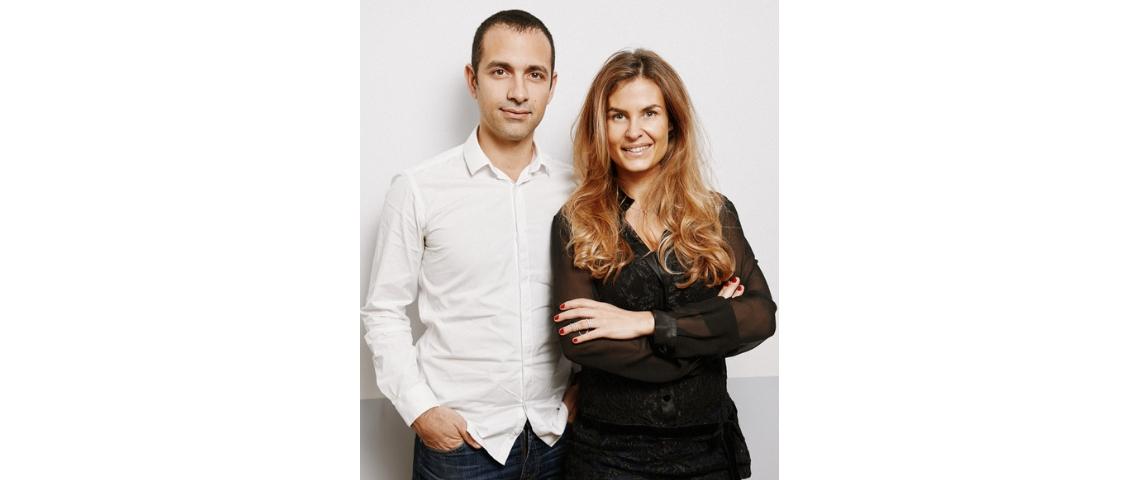 Portrait de Karine Schrenzel et Olivier Gensburger