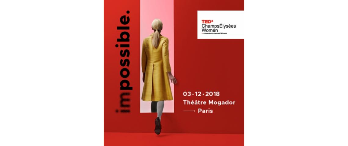 Affiche TEDXChampsElyséesWomen