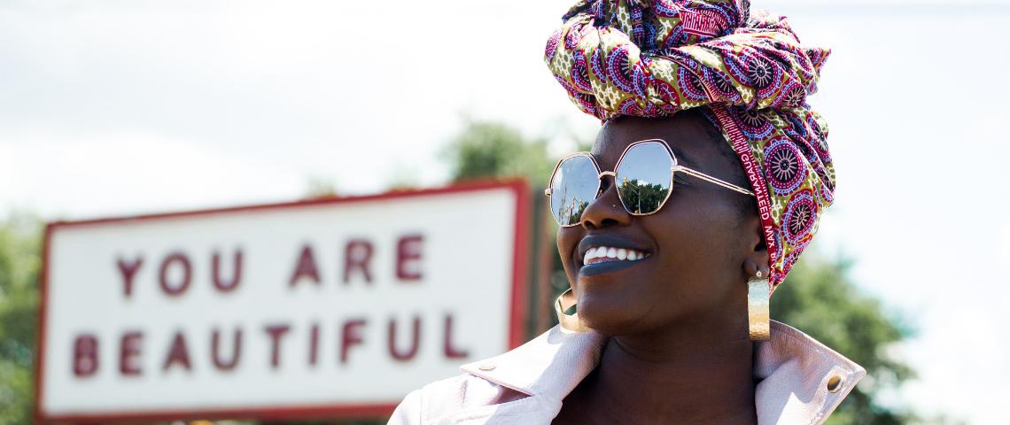 femme noire beautiful