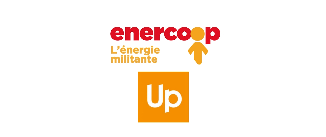 Logos Enercoop et Up
