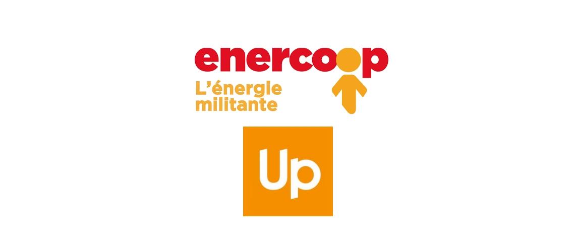 Logos Enercoop et Up