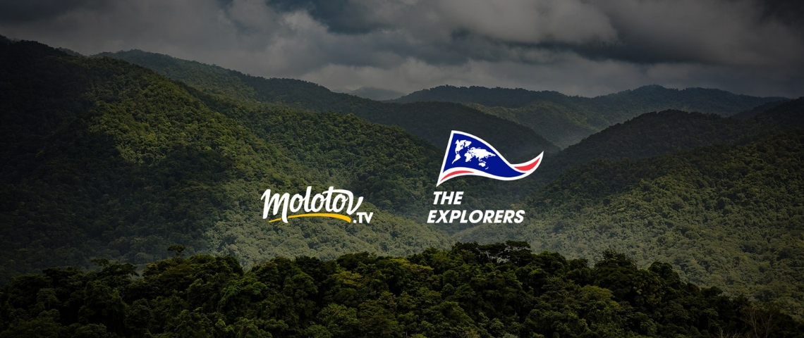 Visuel Molotov et The Explorers