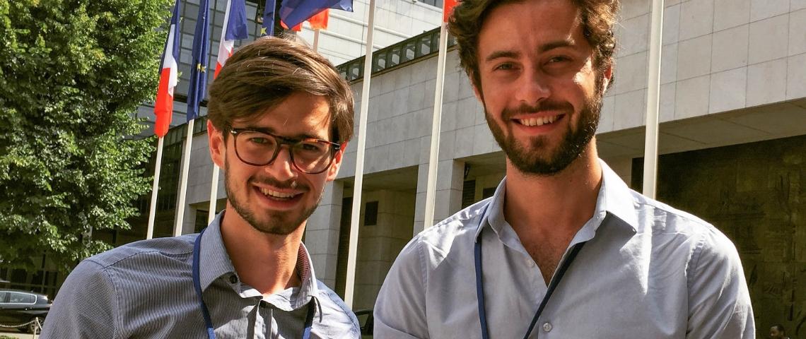 Les fondateurs de la start-up Neocity