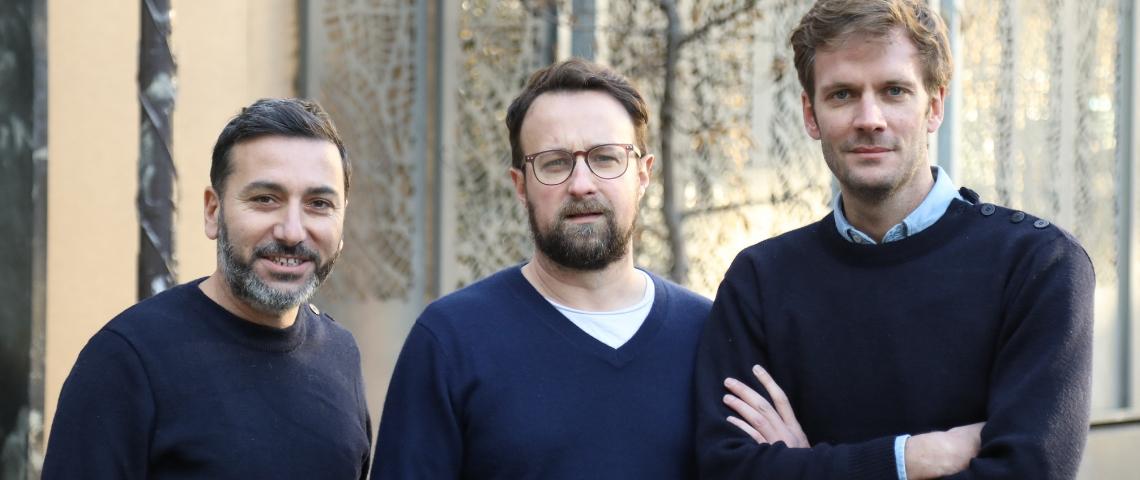 Ronan Le Goff, Nicolas Soussan et Arnaud Redard