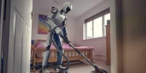 Un robot qui fait le ménage