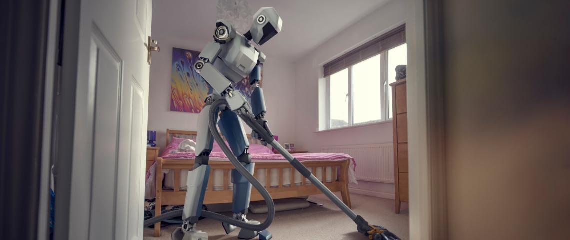 robot qui fait le ménage