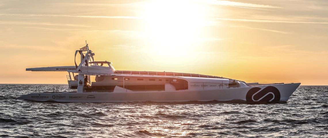 Le bateau Energy Observer