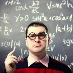Geek qui écrit un algorythme