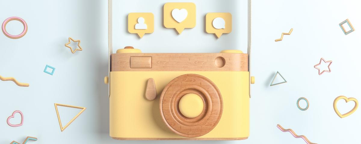 appareil photo instagram