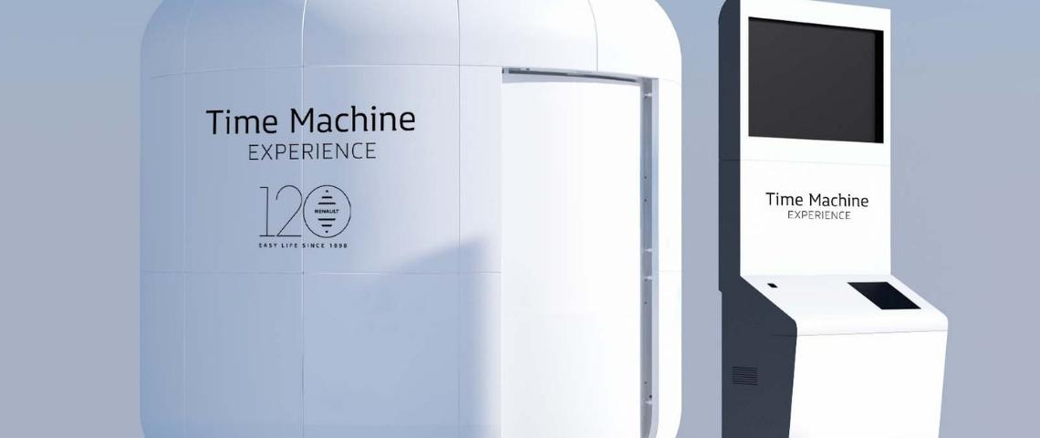 Time Machine Expérience par Renault