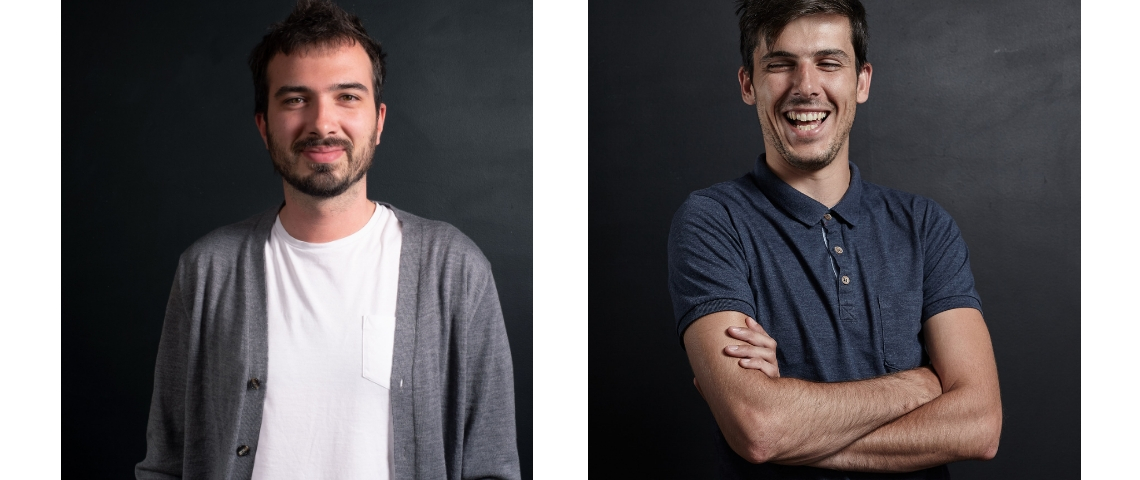 Portraits de Vincent Guillerm et Maxime De MArco